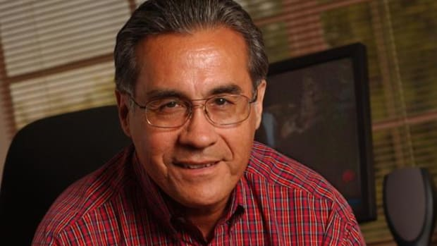 Don Pepion, an anthropology professor at New Mexico State University, is working to understand the cultural factors behind Native American student retention.
