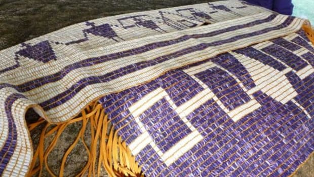 The Canandaigua, Two Row, and Haudenosaunee Confederacy Wampum belts.