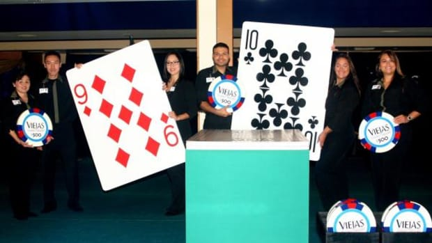 On September 13, in honor of its 22nd anniversary, Viejas Casino & Resort set the Guinness World Record for the Largest Deck of Cards Ever Played.