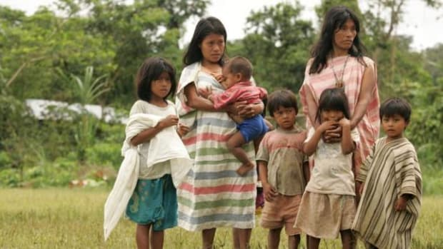 Machiguenga communities near the site of Peru's largest national gas production facility and pipeline could be seeing the affects on the communities diet and culture in areas that include alcoholism and domestic violence.