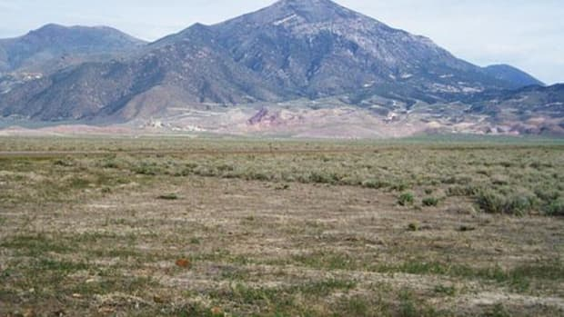 Mount Tenabo is a precious cultural site of the Western Shoshone.