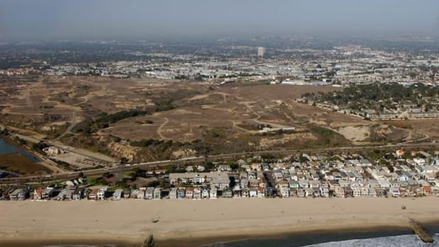 This tract of land known as the Banning Ranch in Southern California has been spared from a 400-acre residential development project, partly because of indigenous concerns.