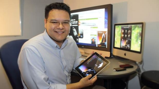 Darrick Baxter, the Ojibway programmer of a language app code, decided to give the source code away for free so other Native languages could be preserved with the use of technology.