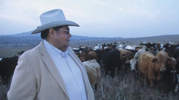 Milton Sovo, Comanche Nation Secretary of Agriculture, on Comanche grazing lands. New access to carbon credits through federal grants will enhance the bottom line as well as preserve culture and help combat climate change.