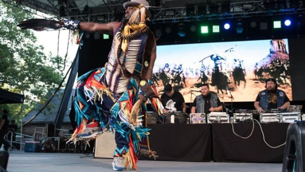SummerStage, City Parks Foundation, Central Park, Rumsey Playfield, New York City, Buffy Sainte-Marie, Iskwé, Aboriginal Performers, A Tribe Called Red, Indigenous Voices, Tanya Tagaq, Canada, Canadian, Cree, Halucci Nation