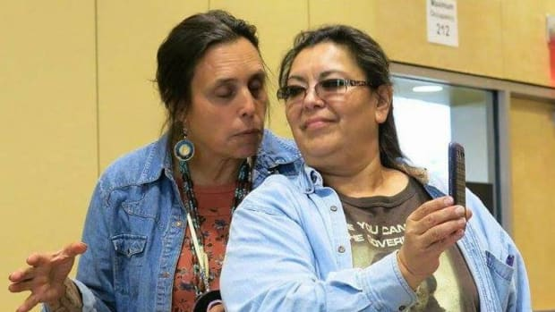 "#NativeVote18 Debra Topping latest Minnesota candidate to run for Lt. Governor. Chris Seymore, running on the Independence Party line as a candidate for governor, posted on social media that Topping ""brings with her the blessings of Winona LaDuke."""
