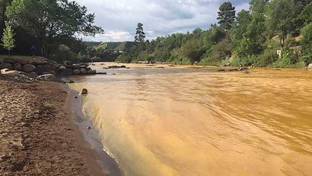 The Animas River ran yellow with toxin-tainted water last August after the accidental release of 3 million gallons of wastewater from the abandoned Gold King Mine near Durango, Colorado.