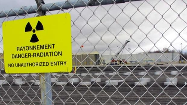 Currently intermediate-level radioactive waste rests in shallow pits at the Bruce Power nuclear complex near Kincardine, Ontario. Ontario Power Generation, a quasi-public company owned by the provincial government, wants to bury it.