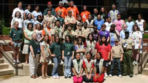 The American Indian Scouting Association's 2013 seminar was held in Riverton, Wyoming.