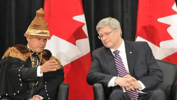 Atleo and Harper: National chief's resignation sparks questions about who speaks for First Nations across Canada.