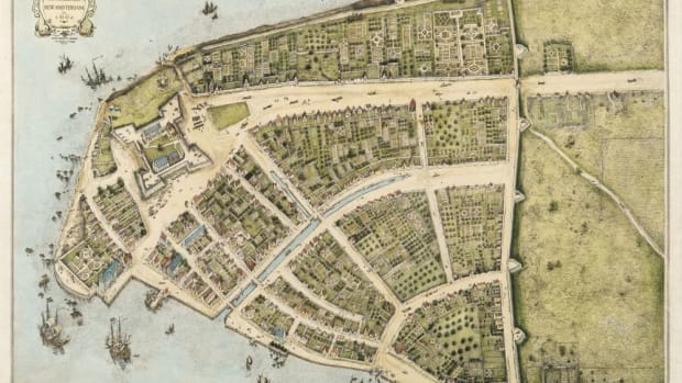 There was a Bowling Green Massacre, but in 1643 in New Amsterdam (later New York City) and committed by immigrants of the day: treacherous European settlers and soldiers. (Map of New Amsterdam, 1660).