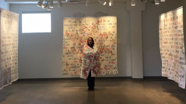 Gina Adams, Broken Treaties Quilts