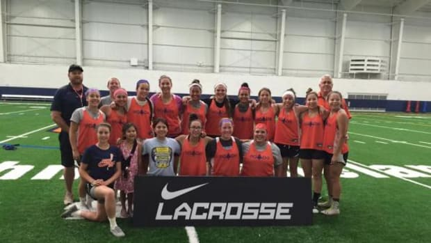 The Haudenosaunee Nation Women's Lacrosse Team