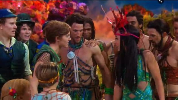 NBC aired 'Peter Pan Live!' on prime time TV Thursday.
