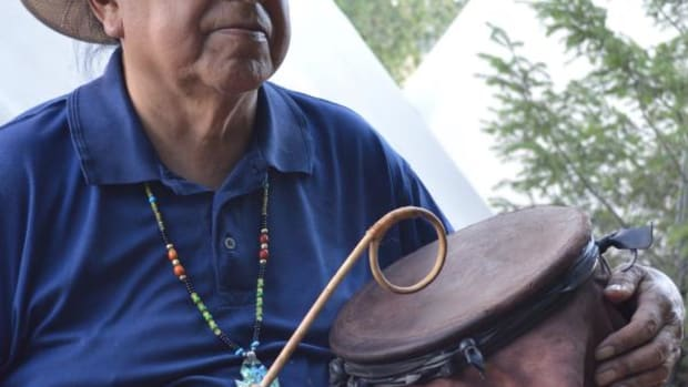 Freddie Kaydahzinne is a tribal museum curator and descendant of Cochise.