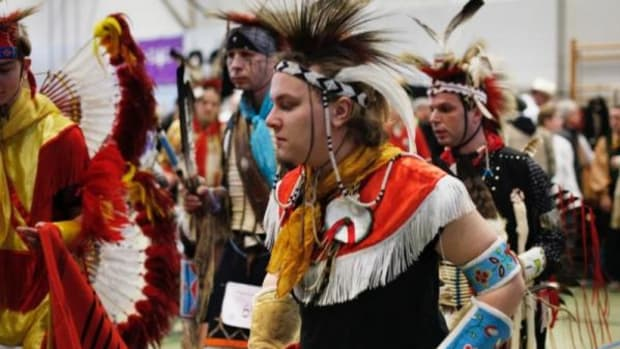 """""""I am Native American and I know what is proper at pow-wows. This is not a pow-wow anyway."""""""