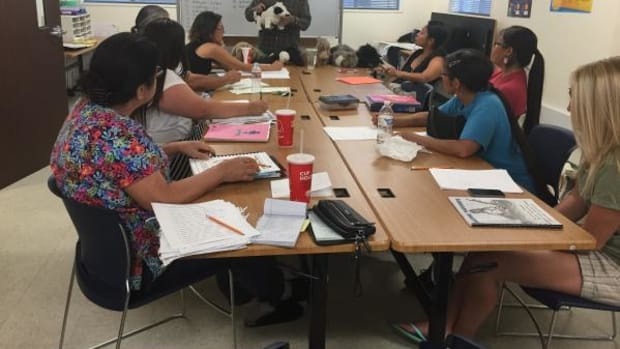 Students of all ages are learning their Native languages through a language preservation effort within the Reno-Sparks Indian Colony in the Reno-Sparks area of Nevada.
