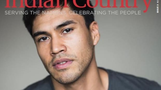 Indian Country magazine, issue #3, cover, Martin Sensmeier, Hot List 2017