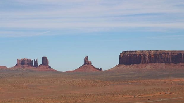 Navajo Nation members have scarce access to running water in Monument Valley, which spans Arizona and Utah.