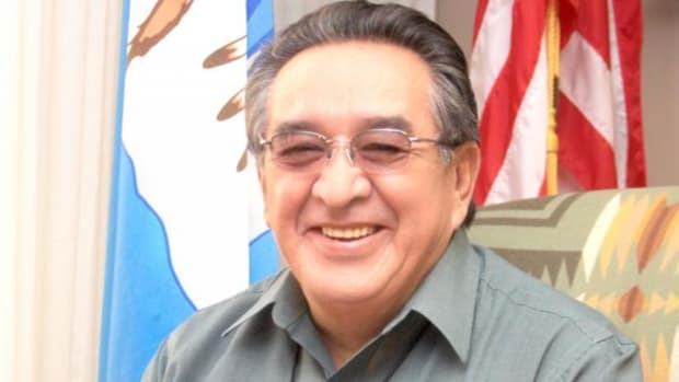 Harry Smiskin, chairman Confederated Tribes and Bands of the Yakama Nation