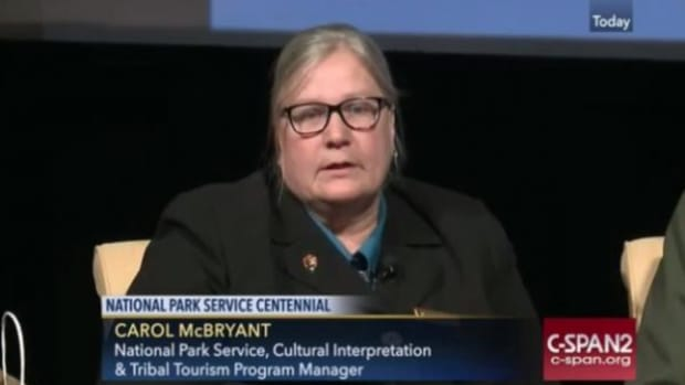 Carol McBryant, the relevancy, diversity, and inclusion strategist for the National Park Service, said the continent belongs to indigenous people.