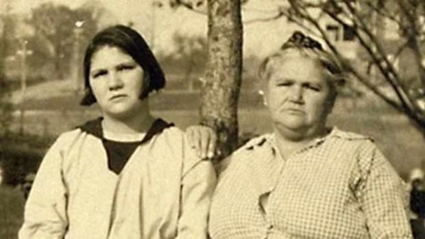 Carrie Buck, a Tutelo Indian, was a victim of the eugenics movement in Virginia in the 1920s. Read more about her story at SaponiTown.com.