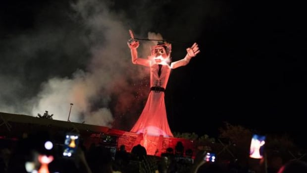 """The burning of the Zozobra, which has taken place annually since being created by Will Shuster in 1924, commemorates the """"peaceful reoccupation"""" of Santa Fe, with the event now becoming the unofficial kick off to Santa Fe fiestas."""