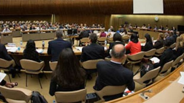 Seeking environmental justice for Indigenous Peoples and others through the elimination of discrimination at CERD in Geneva.