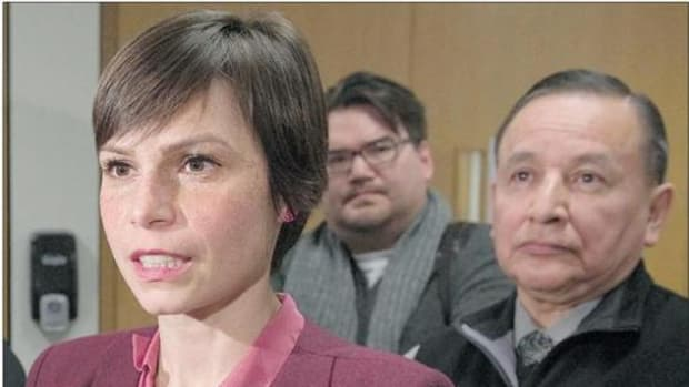 Attorney Robyn Gervais, left, has withdrawn from the Missing Women Commission of Inquiry. She was the only attorney representing aboriginal interests; the rest are all for police.