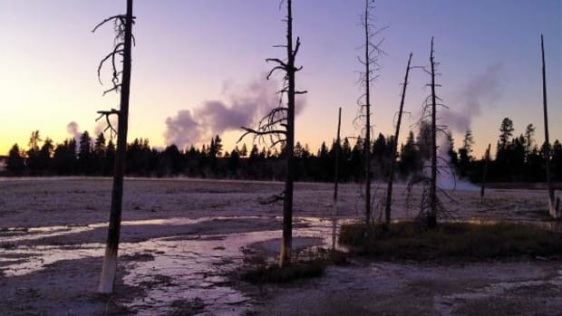 Yellowstone National Park trails. For thousands of years, Native Americans prayed and celebrated life on the land claimed by the National Parks Service, Sarah Sunshine Manning writes.