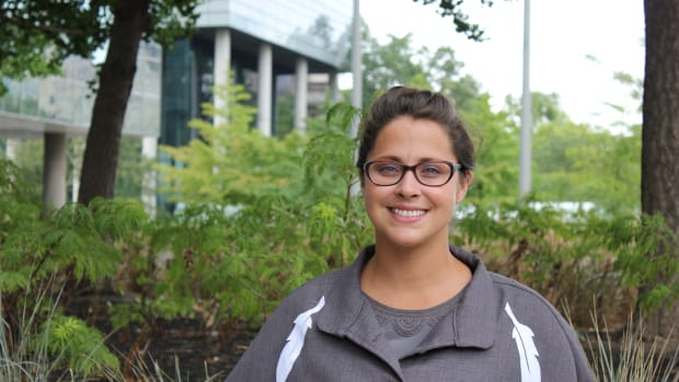 Stephanie Seymour, now on the Lakehead University faculty of Natural Resources Management, is also a CLAN ambassador and mentor.
