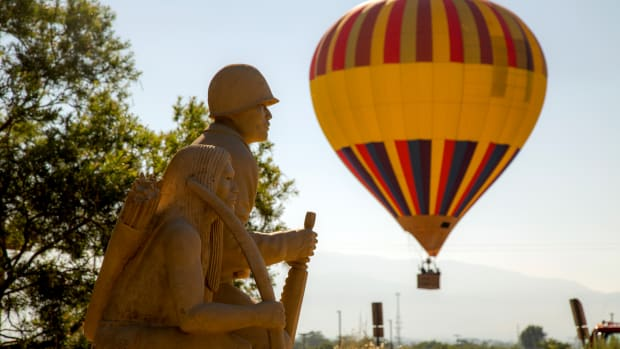 Pictured: The Indian Pueblo Cultural Center's Balloon Fiesta Week.