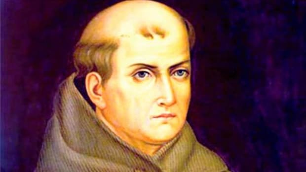 A statue of Franciscan Friar Junipero Serra was decapitated in October. The head was discovered Saturday during a low tide in Monterey, California.