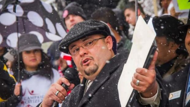 Colorado State House Representative Joseph Salazar, above, is slated to introduce a bill that would effectively repeal Columbus Day from the state calendar.