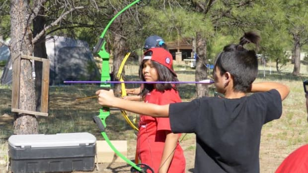 Growing Up Indian, Bows and Arrows, Juvembers, Lumbee, Native American Youth