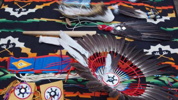 Eagle feathers returned to Little River Band of Ottawa Indians (Photo courtesy Little River Band of Ottawa Indians)