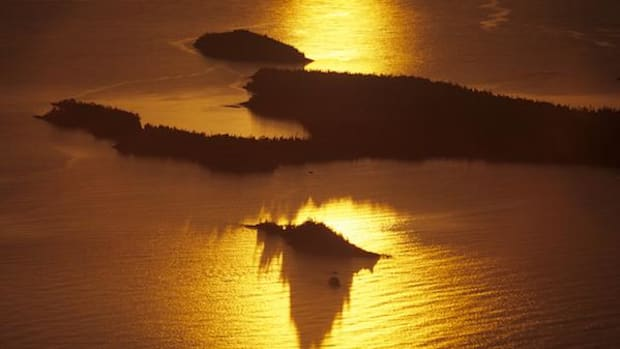 Big Susie island, now finally back under ownership of the Grand Portage Ojibwe, completes the 13-isle archipelago.