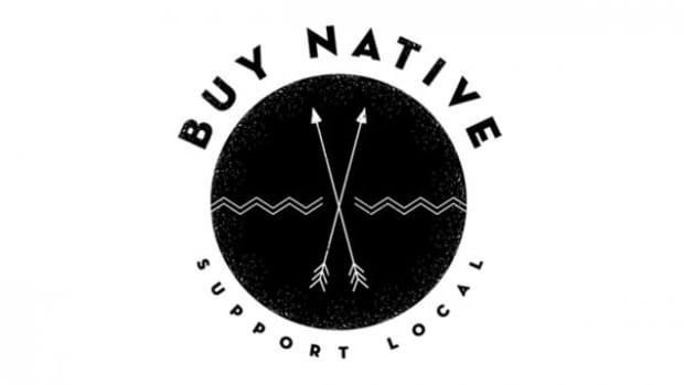 BUY NATIVE logo by Victor Pascual