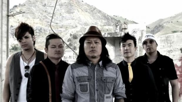 ICTMN contributor Jacqueline Keeler spoke with Simon Tam, second from right, of The Slants to discuss federal trademarks and self-determination in communities of color.