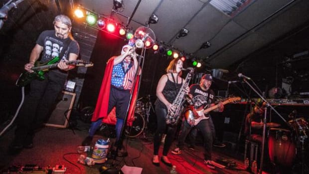 Red Earth rocked The Electric 49 at this year's Gathering of Nations.