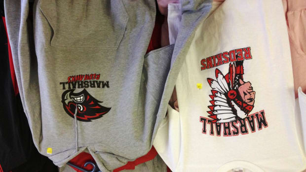 A state senator in Michigan is seeking to ban the use of the word 'redskins' at public schools.