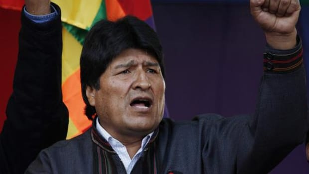 """Evo Morales: """"We don't need them to come under the pretext of cooperation and diplomatic relations to conspire against."""""""