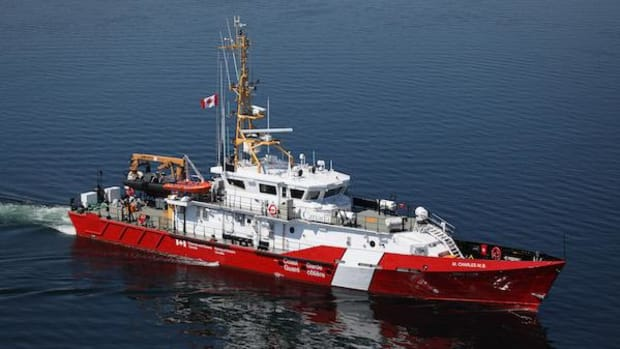 A new Canadian Coast Guard ship has been named after Nuu-chah-nulth hereditary chief Martin Charles, for a daring rescue as well as decades of selfless service.