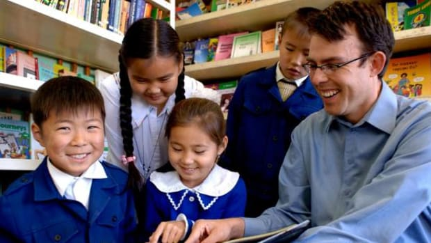 Anthony Trujillo was a volunteer for the Peace Corps in Mongolia from 2005-2007.