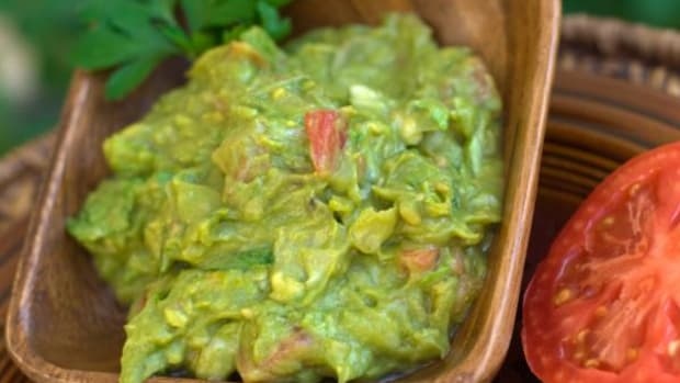 Guacamole is a quick and easy snack sure to please many a hungry guest.
