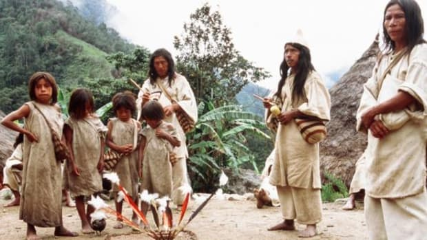 The Kogis are guided by their spiritual leaders, the Mamos. (Eric Julien)