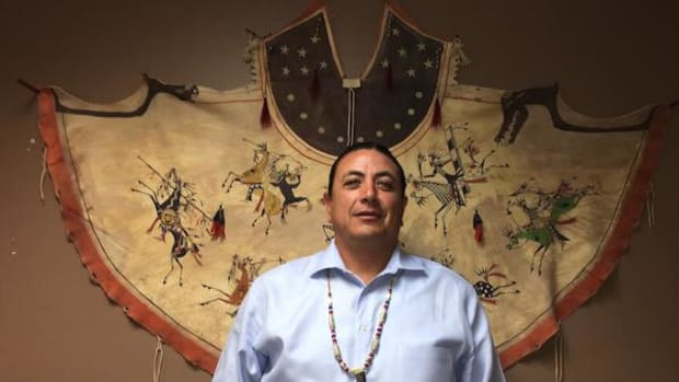 Standing Rock Sioux Chairman David Archambault II is condemning the tactics used against unarmed water protectors by police, including rubber bullets and pepper spray.