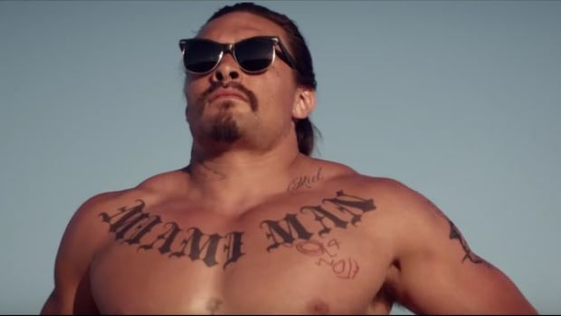 Jason Momoa in 'The Bad Bunch' - Screen Capture of YouTube Trailer
