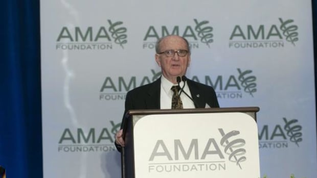 Dr. Everett Rhoades, the founder of the  Association of American Indian Physicians