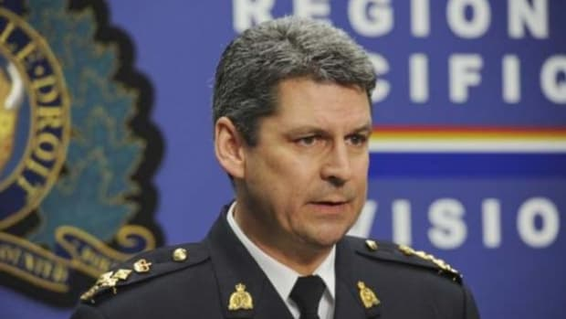 RCMP Assistant Commissioner Craig Callens in December. On January 27 he apologized for the shortcomings in the investigation into serial killer Robert Pickton, the first RCMP officer to do so.